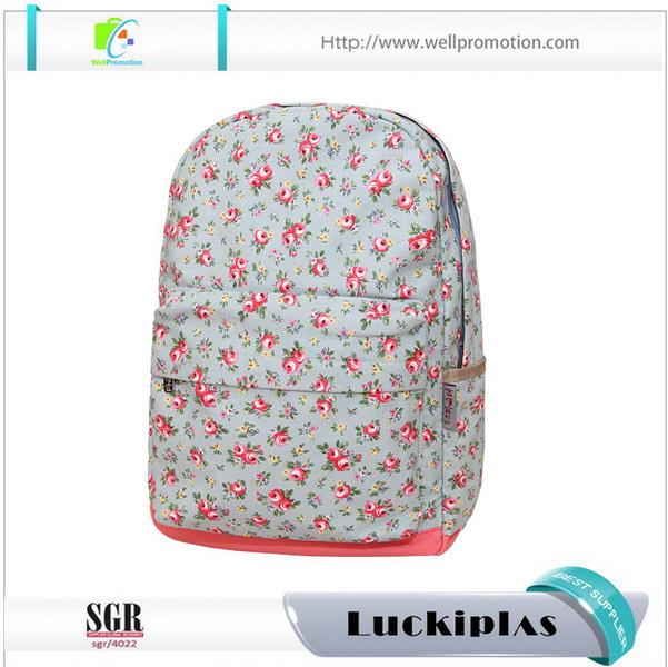 beautiful high school student backpack bags for school girls with bottle holder