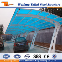 steel structure car shed