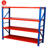 Factory Direct Price 3 Tier , 4 Tire , 200kgs 5 Layer Adjustable Warehouse Garage Shelving Shelf Rack