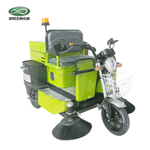 GD-S359 ride on electric road sweeper