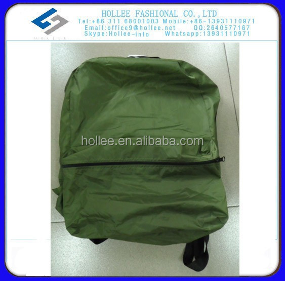 VS1030C green windbreaker jakcet in bag