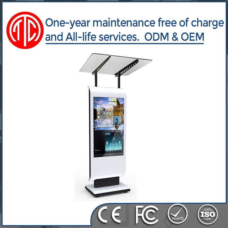 55 inch floor stand network windows Digital Signage media player