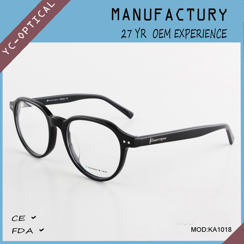 Hot new products frame metal round frame reading glasses low price