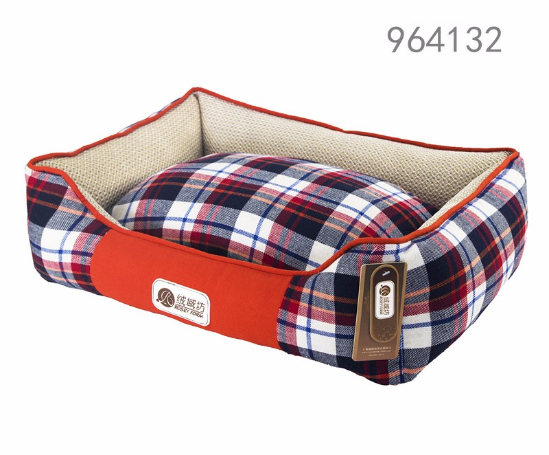 home garden pet products new premium great cool unique cheap and best small washable plaid rectangular cat beds for small dogs
