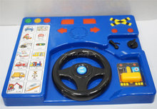 Wholesale custom kids toys for musical driving educational machine with sound effect
