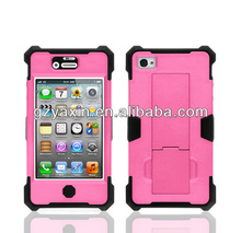 Mobile phone accessories robot magnetic phone case for iphone 4