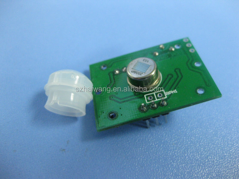 HW-8002 pir motion sensor module for long distance for ceiling lights
