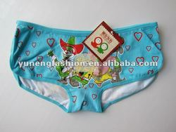 Girls Cotton cartoon panties