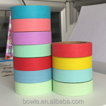 Printed paper masking tape can be written easy tear by hand