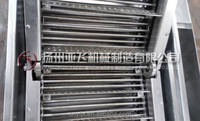 Roller Conveyor With Baffle Plate