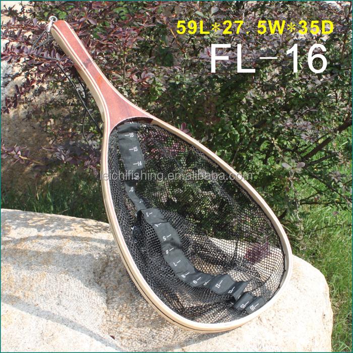 Extra long handle fishing nylon landing net buy nylon for Long handle fishing net