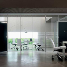 office workstation, partition wall, office partition windows