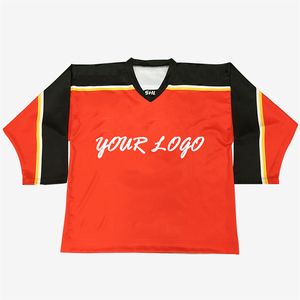 european mens cotton sublimation custom wholesale hockey jersey
