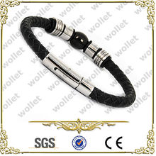 Shenzhen Brown men spanish leather bracelets