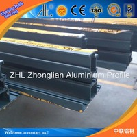 Hot! Polular aluminum glass window in Africa/ India/ France, egress window profile aluminum glass channel