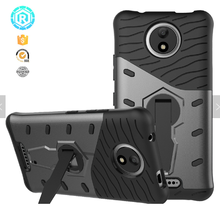 Quality tpu back case for motorola phone shockproof cover with kickstand