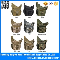Hot sale outdoor camera bag army fashion multi functional digital SLR bag of canvas
