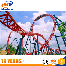 Mantong amusement park Cheap roller coaster for sale