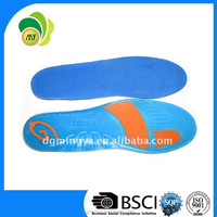 Mingya silicone gel shoes pad,silicone gel insoles