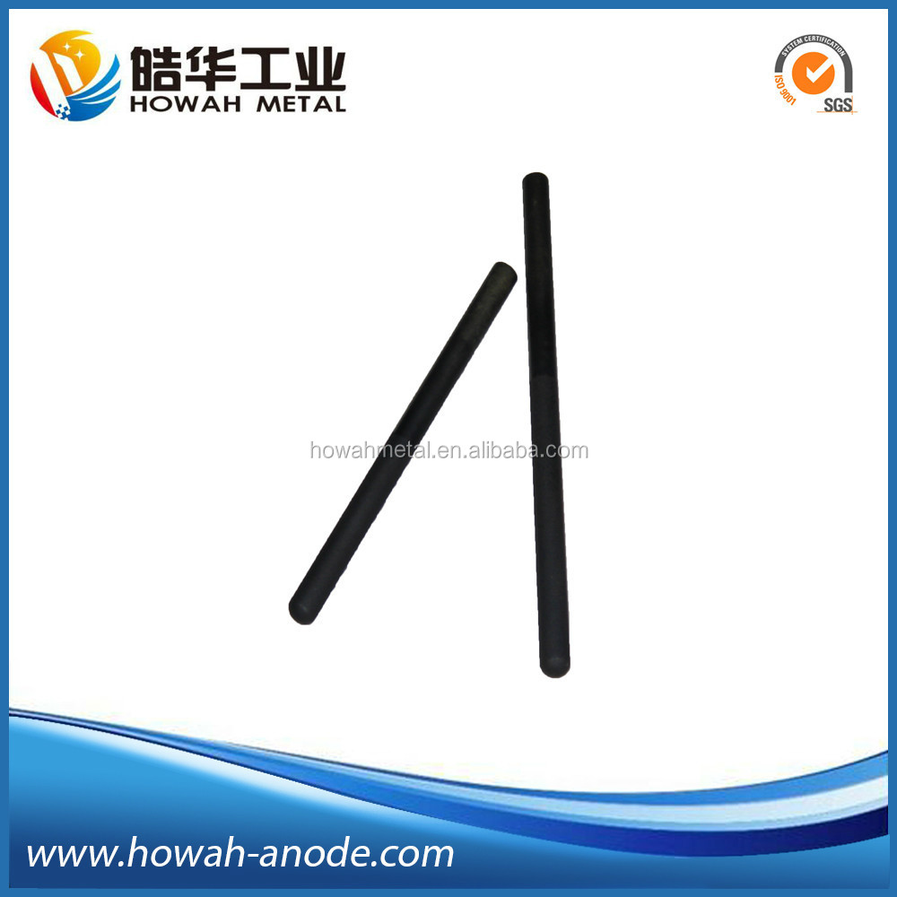 MMO Coated Titanium Solid Rod Anode For Electrolysis