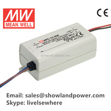 Original Meanwell 12w Constant Current led indoor driver