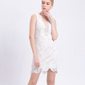 Women's Elegant Floral Lace Summer Club Dress 100pcs MOQ