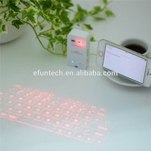 2018 Hot selling new products alibaba portable mini wireless laser projector keyboard for smartphone and tablet pc