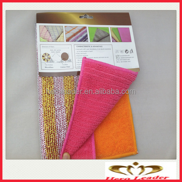 Hot sale microfiber cleaning towel