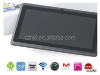 Hot sale Allwinner A13 Android tablet pc 7 inch 800*480 Resolution capacitive screen 7 inch Q88