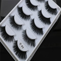 100% Korea Fiber 3D faux mink eyelashes Exclusively For Glam Girl
