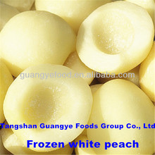 iqf frozen food food white peaches