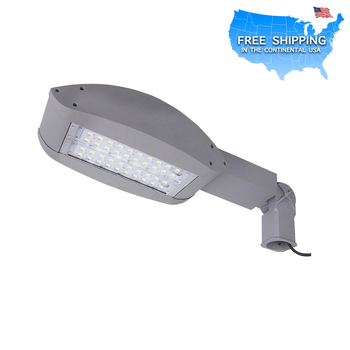 shipping in USA led parking lot lighting with U.L DLC approved LED street light free shipping
