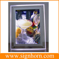 a1/a2/a3/a4 wall hanging picture/photo/poster acrylic frame