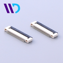 Professional 0.5mm pitch 24 pin fpc connector for telecom card