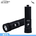 100m 650 Lumen Scuba Backup LED Dive Light X11