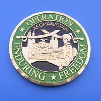 operation enduring freedom enamel challenge coin