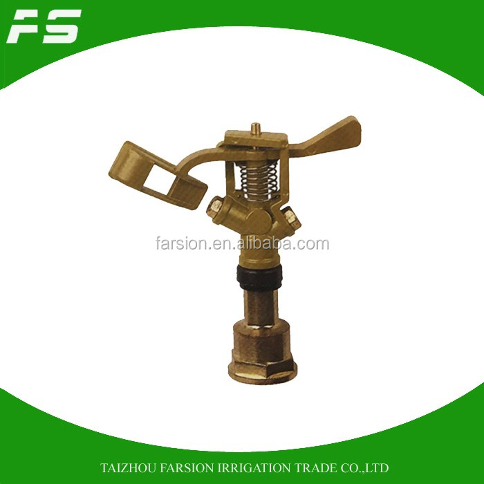360 Gear Drive Zinc Alloy Automatic Water Saving Irrigation Sprinkler