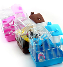 Factory made 100% good quality durable stocked cool hamster cages