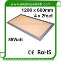 CRI>80 85Watt 1200x600mm commercial led ceiling panel light
