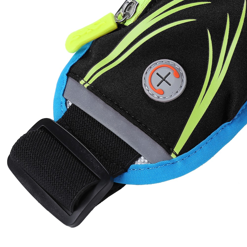 HAISSKY Fanny Pack Workout Belt Sports Waist Pack Belt Pouch for Apple iPhone 7