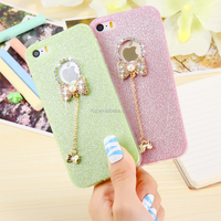 2016 alibaba China smartphone case for girl girly bowknot tpu lovely soft case bumper cover for iphone5s ip SE