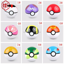 2016 Japan comic 7 cm pokemon comic ball for childern toy