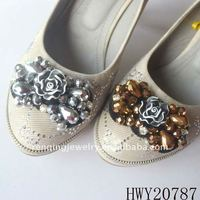 women handcraft shoe flowers,shoe accessories 2012&shoe decorate