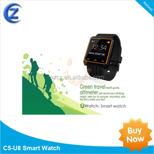 2014 new Hot multi-function U8i smart watch bluetooth phone watch
