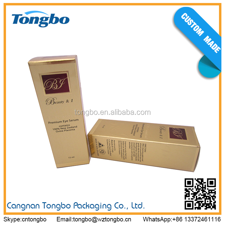 Luxury and top grade cosmetic paper box