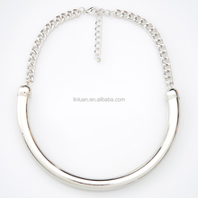 alibaba in russian fashion jewelry 2015 silver collar necklaces for young girls