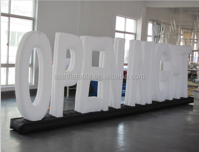 giant inflatable letters inflatable number inflatable model for advertising