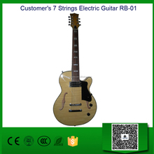 Customer's Electric Guitar (OEM) , 7 Strings, Grover Hardware and Pickups