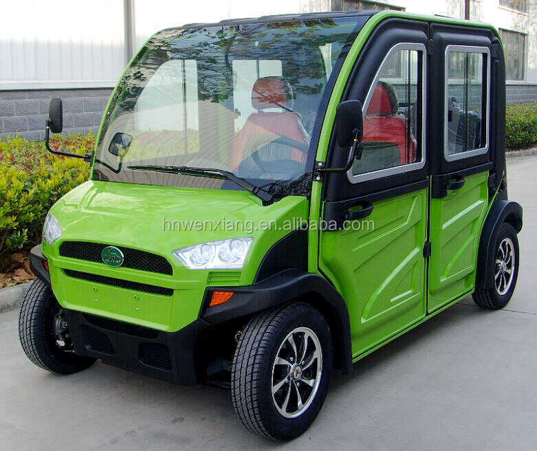 2016 New Green Electric Four wheel Car Made In China