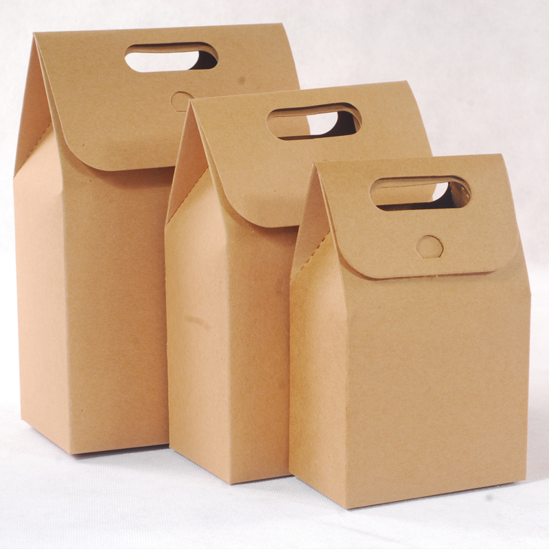 High quality 6-pack wine carrier box in kraft cardboard supplier